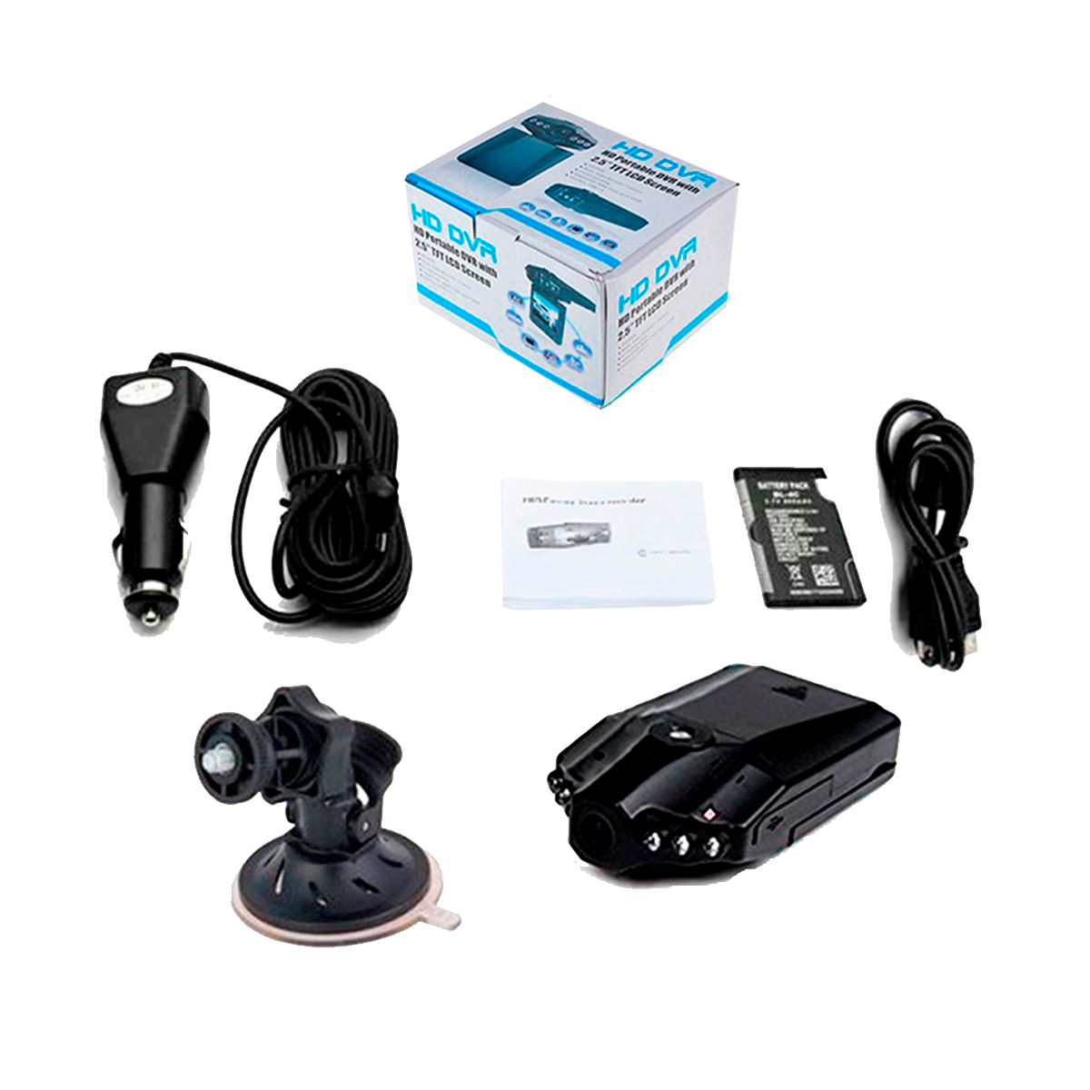DVR para carro Full HD - Video vigilancia